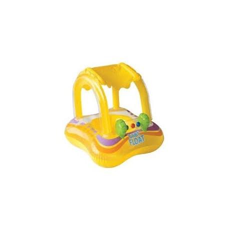 Flotador con Techo para Niños Intex Amarillo