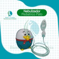 Nebulizador Pediátrico Pato Gratis Kit Nebulización