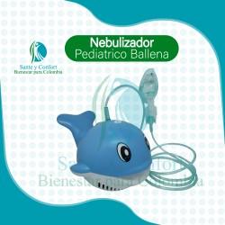 Nebulizador Alto Rendimieno Ballena Gratis Kit Nebulización
